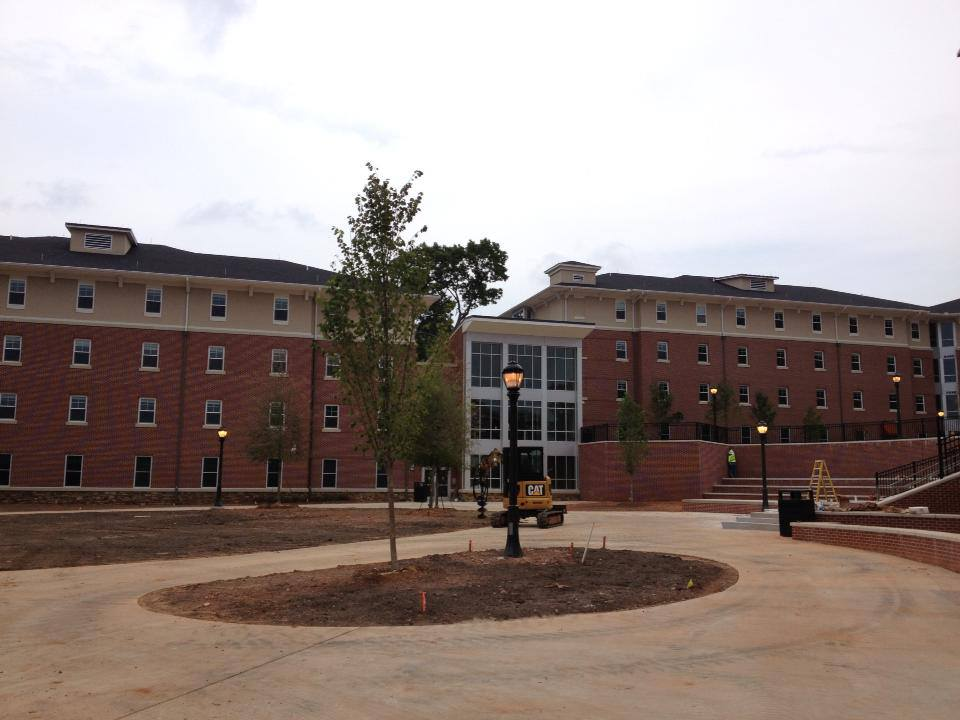 major construction almost complete at the university of west georgia