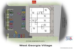 UWG March 2014 Site Plan