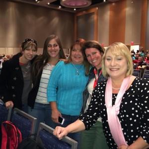 Pictured Left to Right: Stephanie Sharpton, Tiffany Harrell, Charlene Rogers, Cheryl Watkins, and Tena Musick