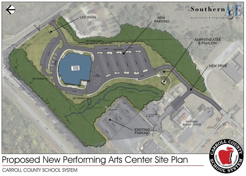 Carroll PAC Site Plan (1)
