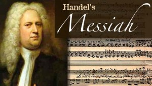 Pic of Handel for Messiah Sing Along
