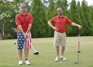 Greenway Rapha Charity Golf Tournament 6-15_Josh Stuber and John Ayers
