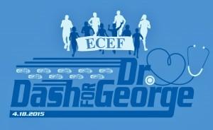dash for dr george logo