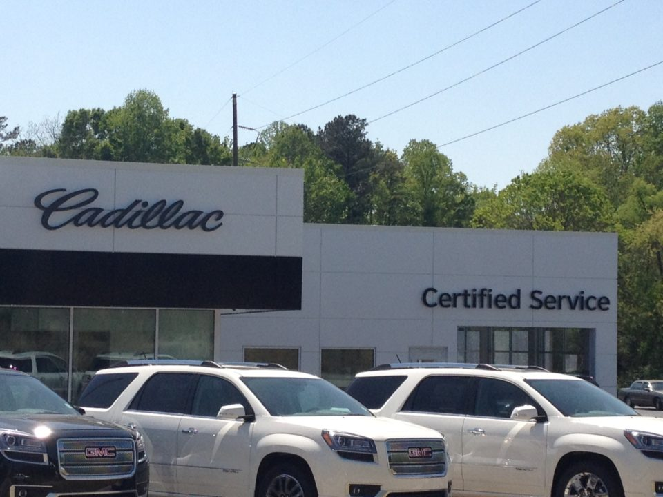 Walker Cadillac Showroom Construction Update | The City us