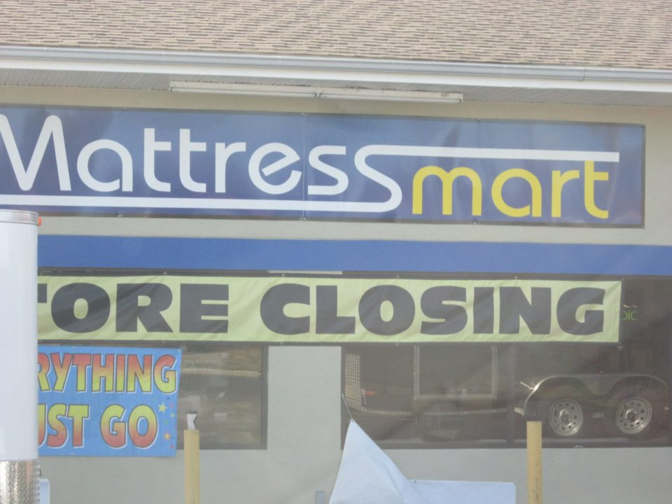 Mattress Mart Closing Carrollton Location