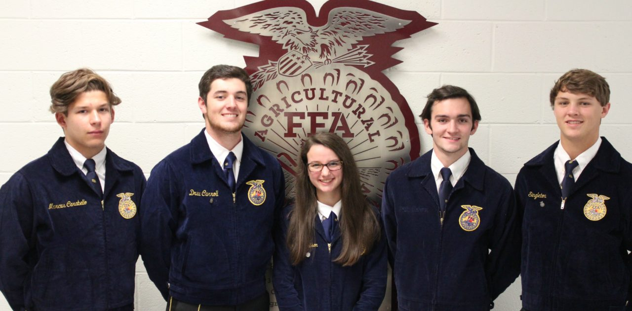 784054b9 Central High School FFA Takes Top Honors in Career Development Events