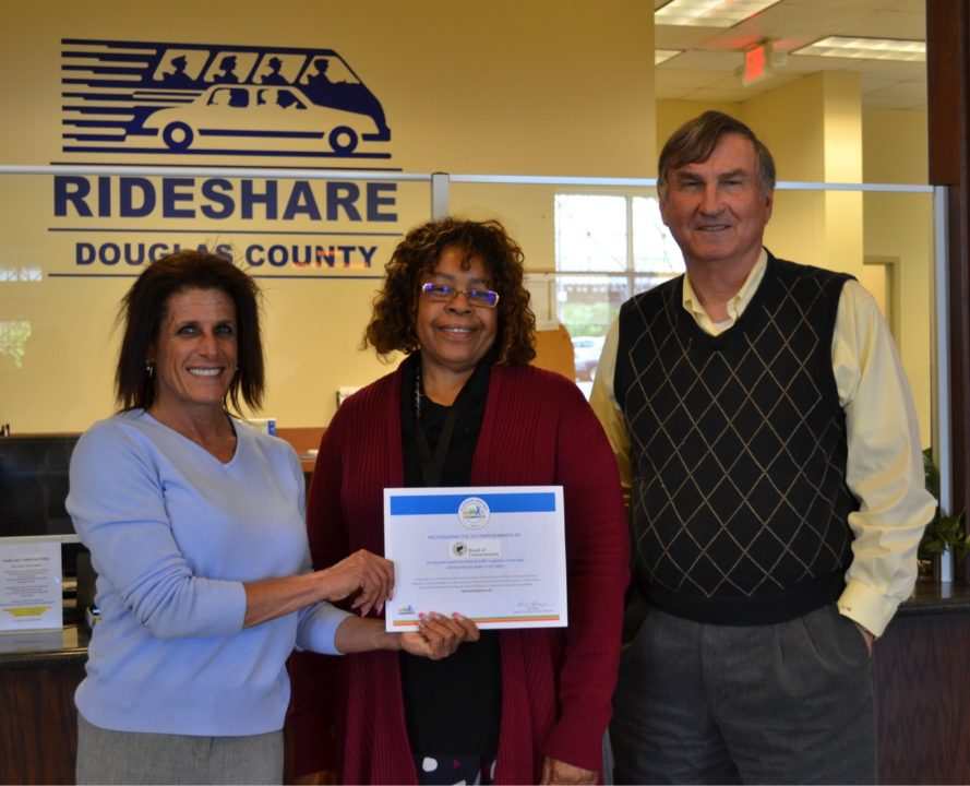 Douglas County was recently recognized as a Platinum Partner by Georgia  Commute Options, signifying the County's commitment to providing  alternatives to ...