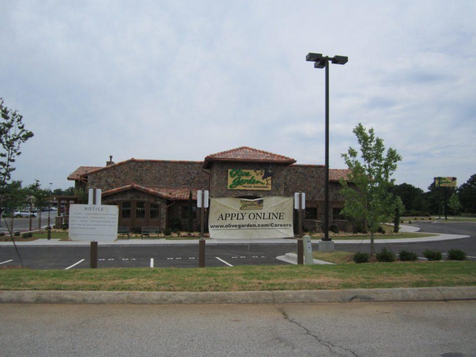 Carrollton olive garden opens july 9th the city menus for Olive garden douglasville georgia