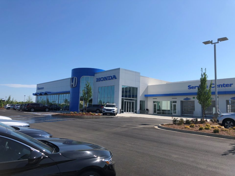 Hendrick automotive group opens honda of newnan the city for Honda dealership atlanta ga