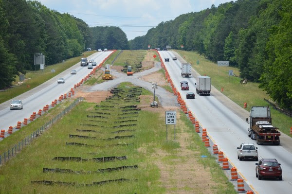 Expect a traffic shift on I-20 starting tomorrow | The City Menus