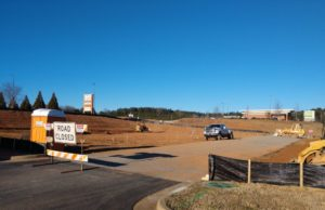 construction work beginning on the location for dairy queen in bremen georgia