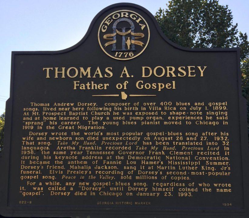 Thomas A. Dorsey Gospel Heritage Festival | The City Menus