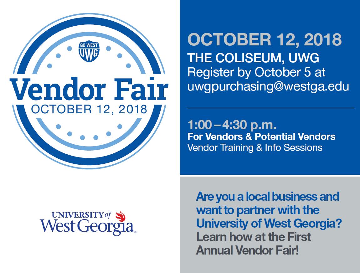 uwg vendor fair